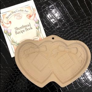 Brown bag cookie art cookie/butter mold